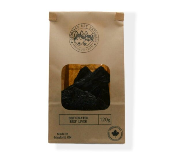 Dehydrated Beef Liver Dog Treats 120g