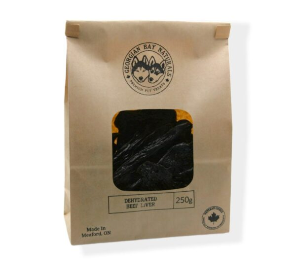 Dehydrated Beef Liver Dog Treats 250 gram
